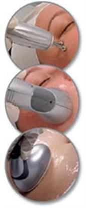 Handpieces used at anti aging clinic