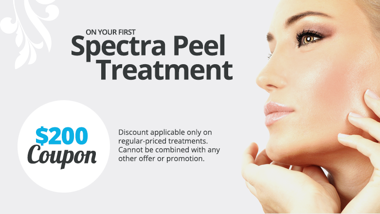 Coupon for Spectra Peel & PRP Treatment