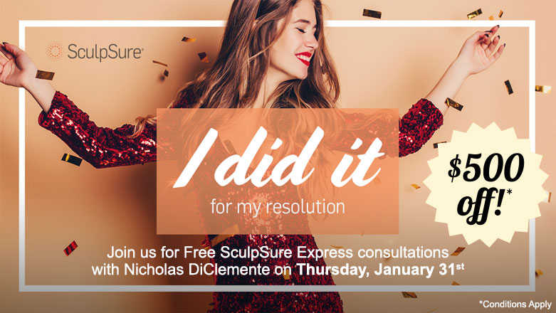 SculpSure - I did it for my resolution